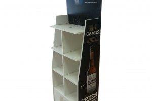 Expositor de cartón para Cerveza Artesanal