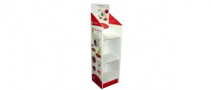 Expositor de Pie en Carton para pequeño electrodoméstico.