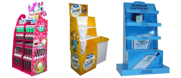 Tipos de Expositores de Carton; Box Palet