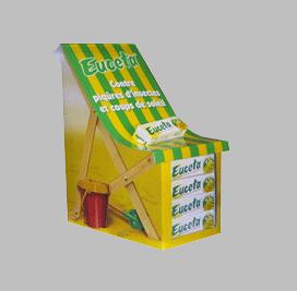 Expositor carton; Expositores de sobremesa