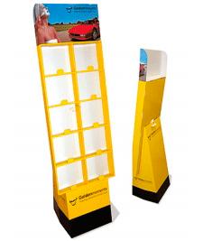 Expositores cartón standard