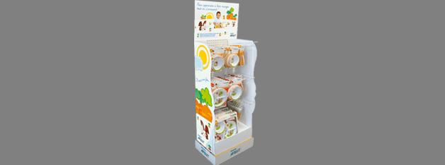 Expositor para tiendas de productos infantiles