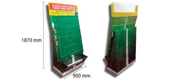Expositor de Carton Futbol