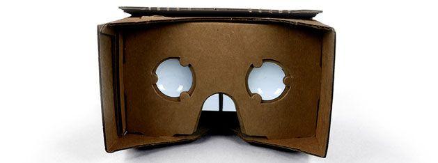 Cardboard, las gafas de realidad virtual de cartón de Google
