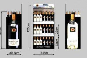 Box y expositores de carton para vino