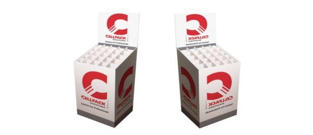 Box Cellpack con celdas separadoras