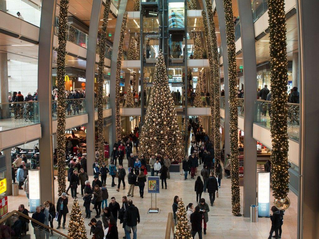 Ejemplo de decoración navideña