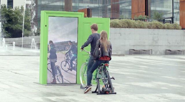 Campaña de street marketing por TBWA París