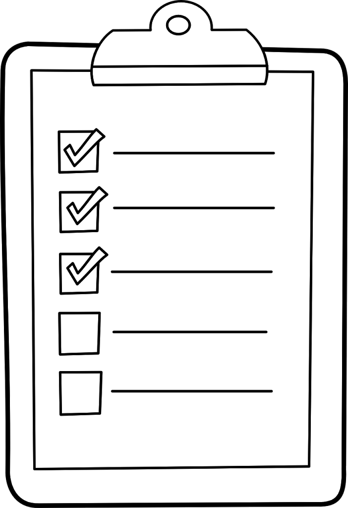 Prepare una lista con los esenciales para su stand al aire libre