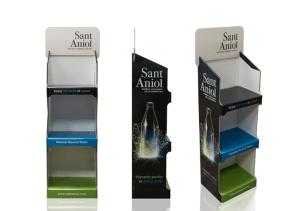 Expositores automáticos para botellas de agua