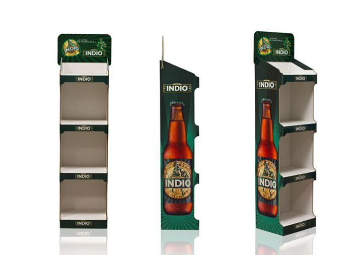 Expositores cerveza indio montaje automático-M