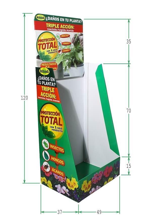 Expositores Box palet de cartón: Prácticos y económicos