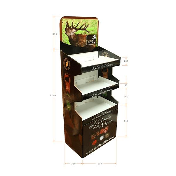 Expositor Box Palet Embutido de la Casa con Medidas - Garoo ®️