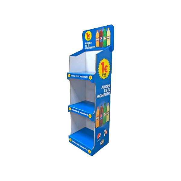 expositores automáticos de refrescos