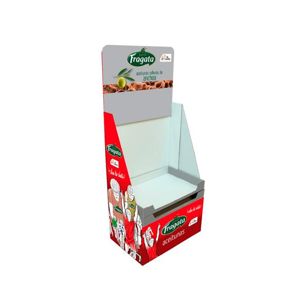 Box Palet de Cartón Aceitunas Fragata - Garoo ®️
