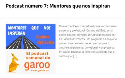 Podcast número 7: Mentores que nos inspiran