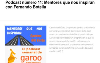 Podcast número 11: Mentores que nos inspiran con Fernando Botella