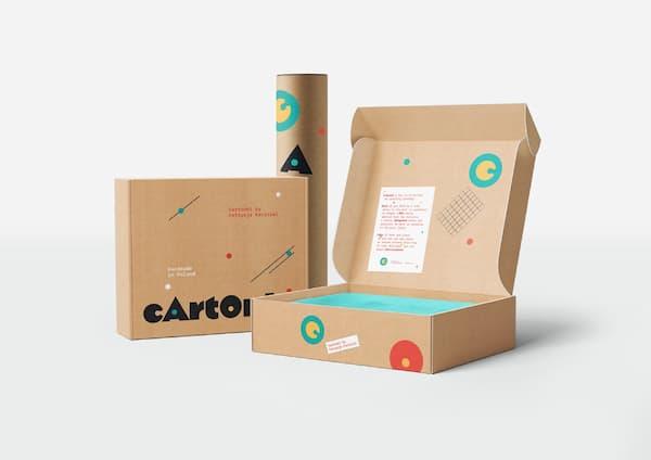 Packaging cajas cartón - Garoo - Expositores de Carton