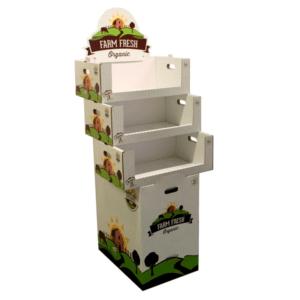 expositor tienda para frutas y verduras