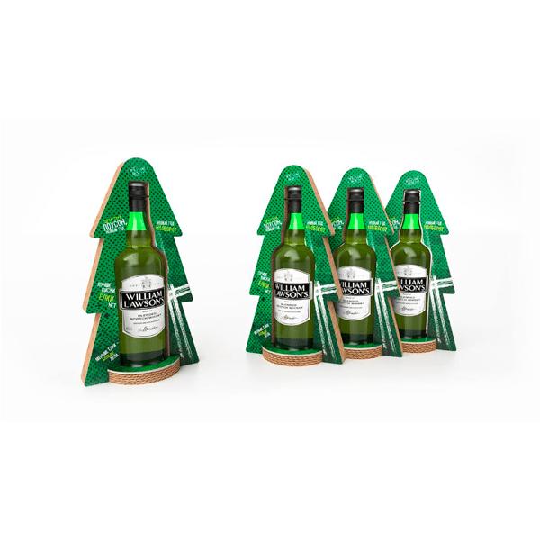 Expositor sobremesa bebidas mostrador promociones - Garoo - Expositores de Carton