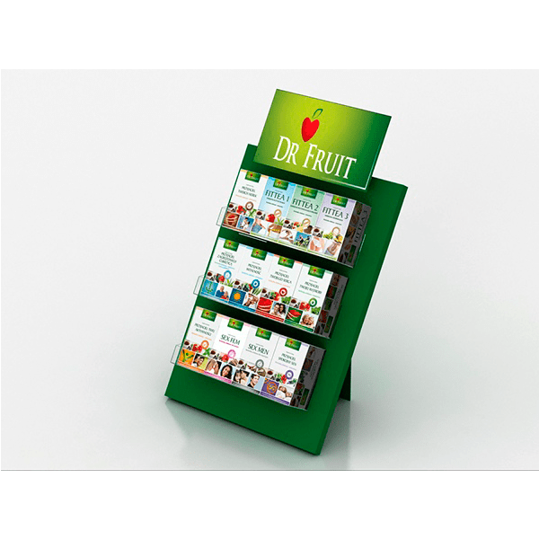 Expositor sobremesa farmacia infusiones - Garoo - Expositores de Carton
